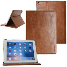 Kaiyue Cover in Pelle per Apple iPad Air 2 GUSCIO PROTETTIVO CUSTODIA TABLET CASE MARRONE