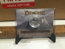 Lord of the Rings Movie Prop - Piece of Gondor Masonry Screen Used hobbit elves