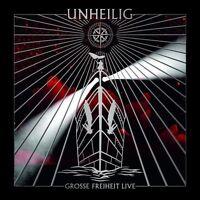 """UNHEILIG """"GROSSE FREIHEIT LIVE"""" 2 CD SPECIAL EDT NEU"""
