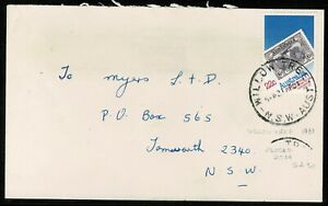 1981 Commercial cover, Willow Tree Postmark (Closed 2014)