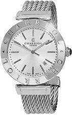 Charriol Men's Alexandre Silver Dial Stainless Steel Swiss Quartz Watch ALS51102