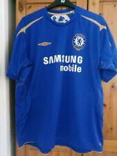 Chelsea home football shirt jersey soccer replicaCentenary 2005 umbro men XXL