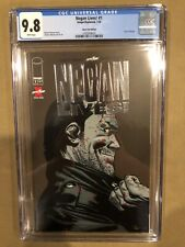 The Walking Dead Negan Lives #1 Image Skybound Comics Silver Variant CGC 9.8