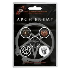 ARCH ENEMY - OFFICIAL BADGE SET BUTTON-SET Will to power