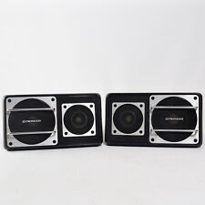 Vintage Pioneer TS-X6 Surface Mount 2-way Car speakers Classic Muscle Car Deck z