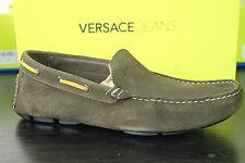 Versace Jeans Driving Shoe OLIV Wildleder Gr. 43