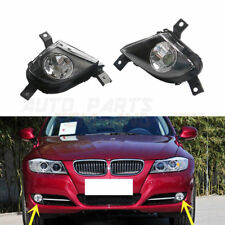 Pair Fog Driving Light Lamp For BMW E91 E90 335i 328i L6 3.0L 2009-2012