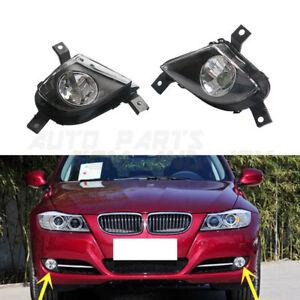 Pair Fog Driving Light Lamp For BMW E91 E90 335i 328i L6 3.0L 2009-2012