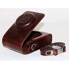 PU Leather Camera Case with Shoulder Strap for Ricoh GR 16.2 MP Digital Camera