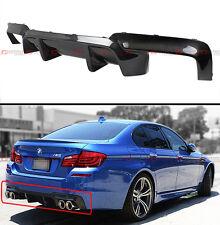 2011-2016 BMW F10 5 Series 535i 528i Carbon Fiber Rear Bumper Diffuser-DMT Style