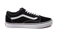 Vans Unisex Classic Canvas Old Skool Sneakers, Black/ True White