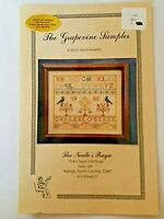 The Needle's Prayse The Grapevine Sampler Counted Cross Stitch Pattern