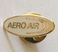 Aero Air Jet & Charter Services Portland Advertising Pin Badge Rare Vintage (D2)