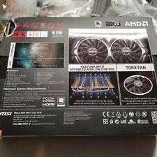 MSI Radeon RX 480 DirectX 12 RX 480 ARMOR 8G OC 8GB 256-Bit GDDR5 PCI Express x1