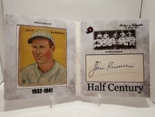 2020 Historic Autographs Half Century Jack Russell Cut Auto