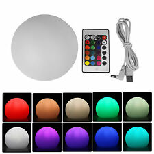 Outdoor Rechargeable LED Lighting RGBW Color Changing Glow Ball Mood Lamp Lights