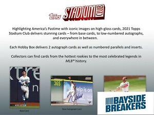 Minnesota Twins 2021 Topps Stadium Club Baseball Half Case (8 Box) Break #1