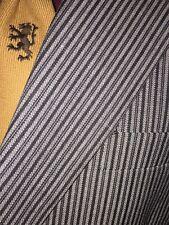 Vintage Mens Striped Boating Rowing School Sports Suit Jacket Blazer Retro 44s