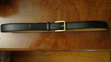 "Size 36"" 1¼"" Genuine Leather dress men Belt"