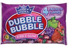 Dubble Bubble FRUITASTIC Bubblegum wrapped gum 16oz (453g) 4flavor twists fruit