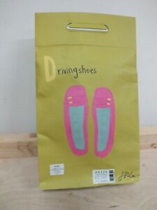 Ladies Hot Pink  Joules Driving Shoes - Size 5 (Nee]