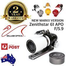 William Optics ZenithStar 61mm f/5.9 Imaging APO Refractor FPL-53 ED APO Doublet