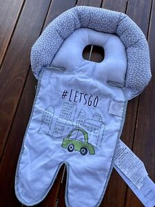 Boppy Gray Head and Neck Support Removable Neck Ring #2057