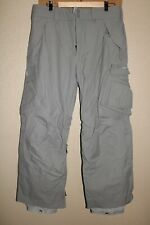 "BURTON Ronin Mens medium M 34""W 30""L Lined Nylon Snow/Snowboard Pants"