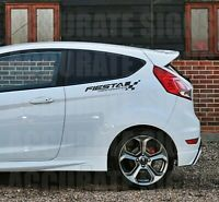 SIDE GRAPHICS TO FIT FIESTA STICKERS (PAIR) DECALS