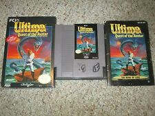 Ultima: Quest of the Avatar (Nintendo Entertainment System NES) Complete GOOD