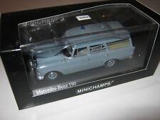 MERCEDES 1:43 190 1961 L.E. 400037270 Minichamps OVP NEW
