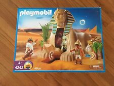 Playmobil 4242 Sphinx with mummy complete