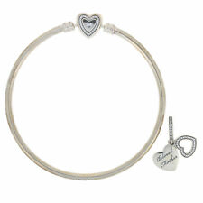 """NEW Authentic Pandora A Mother's Love Bracelet Sterling Hearts 8.3"""" USB796121-21"""