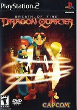 Breath of Fire: Dragon Quarter (Sony PlayStation 2, PS2, 2003) *COMPLETE*