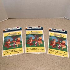 3 PACKS Winnie the Pooh & Friends 8 ct each TREAT LOOT PARTY BAGS  6 1/2 X 9""
