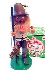 "Steinbach Smoker (incense burner) ""ACHORN MAN"" S944~Original Box~Never Used"