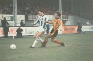 Kilmarnock v Partick Thistle - Eight action shot of game from early 90's