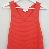 [ WITCHERY ] Womens Sleeveless orange Top | Size S or AU 10