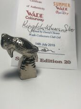 WADE Kingfisher Whimsie Silver LE 20