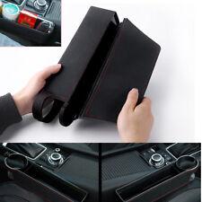 Autos Car Seat Gap Storage Box Organizer Coin Console Pocket Cup Drink Holder