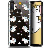 "Coque Pour Samsung Galaxy A20E (5.8"") Extra Fine Fantasia Licorne In the Sky"