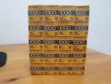 Kodak Kodacolor VR 1000 35mm Farbfilm - 20 Rollen á 12 Exp. (07/1984) - NEU OVP