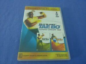 Billy Blanks Tae Bo Cardio Circuit 1 & 2 DVD Free Tracked