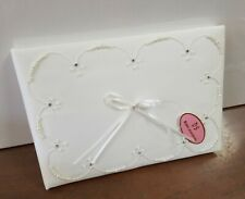 Wedding Guest Book - Pretty Pearl - Ivory -New