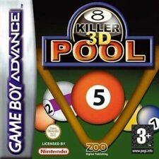 Nintendo Gameboy Advance juego-Killer piscina módulo 3d