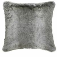 BLCC4164 White Alaska Faux Fur Cushion Sofa Living Area Decor