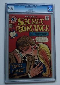 SECRET ROMANCE # 28 CGC 9.6 NM+ Bronze Charlton Love Comic Book Cappello Highest