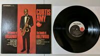 Curtis Amy: Sounds of Broadway / Hollywood LP 1965 Palomar Jazz VG+