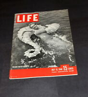 LIFE MAGAZINE JULY 15 TH 1946 WELDED WATER GADGETS