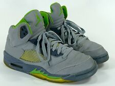 "Jordan V Sz 8.5 ""Green Bean"" - air retro 2006 3m 5 silver metallic stealth iv vi"